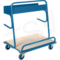 "Lumber Cart - Overall Height: 45"" - Overall Width: 26"""