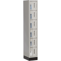 All-Welded Concord™ Heavy-Duty Lockers - Bank of 1 - Colour: Grey