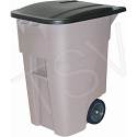 BRUTE® Roll Out Containers - Capacity: 50 US gal. - Grey