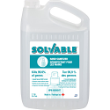 Solvable Liquid Hand Sanitizer - Jug 3.78 L - Qty/Case: 4