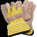 Premium Quality Double Palm Split Cowhide Fitters Glove - Size: Large - Inside Double Palm & Index Finger - Case Quantity: 48