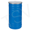 Blue Polyethylene Drums - Drum Size: 15.5 US gal (12.91 imp. Gal.) - Unlined / Open Top