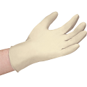 Examination Grade Latex Gloves, Powder-Free - Size: X-Large - Case Quantity: 20 Boxes of 100