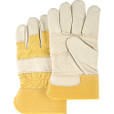 Grain Cowhide Furniture Leather Gloves - Size: Large - Case Quantity: 40