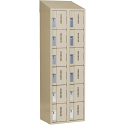 All-Welded Concord™ Heavy-Duty Lockers - Bank of 2 - Colour: Beige