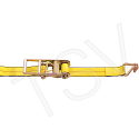 """Ratchet Straps - Type: Wire Hook - Width: 3""""-  Length: 30' - Working Load Limit: 5400 lbs. (2450 kg)"""