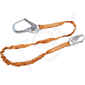 Titan™ Shock-Absorbing Lanyards - No. of Legs: 1 - Shock-Absorber Type: Tubular Built-In Core - Anchorage Connection: Rebar Hook