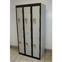 Premium Double Tier Lockers - Basic Style