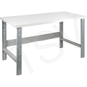 """Pre-designed Workbench - Capacity: 2500 lbs. - Configuration: Top & Legs Only - Height: 34"""" - Width: 60"""""""