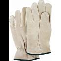 Grain Cowhide Drivers Gloves - Size: Medium - Case Quantity: 24