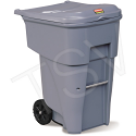 BRUTE® Roll Out Containers - Capacity: 95 US gal. - Grey