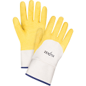 Natural Rubber Latex Palm Coated Crinkle Finish Gloves - Size: X-Large (10) - Case Quantity: 48
