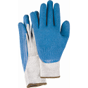 Natural Rubber Latex Coated Gloves - Size: Medium (8) - Case Quantity: 120