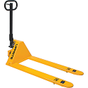 "Ultra Low Profile Hydraulic Pallet Trucks - Lowered Height: 1.75"" - Raised Height: 6.5"""