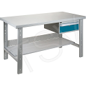 """Pre-designed Workbenches - Configuration: Drawers/Shelf - Height: 34"""" - Width: 60"""""""