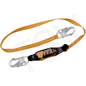 Titan™ Shock-Absorbing Lanyards - No. of Legs: 1 - Shock-Absorber Type: Pack-Type - Anchorage Connection: Snap Hook