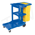 Janitor Carts - Colour: Blue
