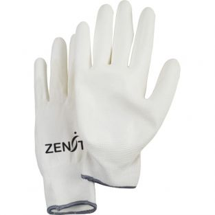 Lightweight Polyurethane Palm Coated Gloves - Size: Small (7) - Colour: White - Case Quantity: 120