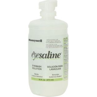 Saline Eyewash Bottles Bottle - Capacity: 16 oz. - Contents: Full