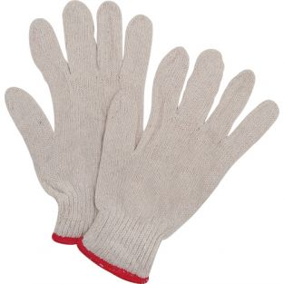 Poly/Cotton String Knit Gloves - Heavy Weight - Size: X-Large - Qty: 300